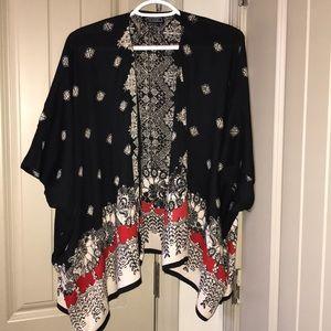 Stylish cardigan style blouse